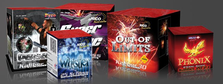 Feuerwerk Produkte